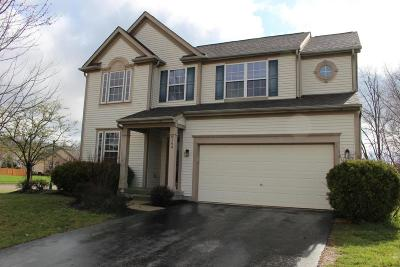 Reynoldsburg Single Family Home Contingent Finance And Inspect: 8149 Reynoldswood Drive