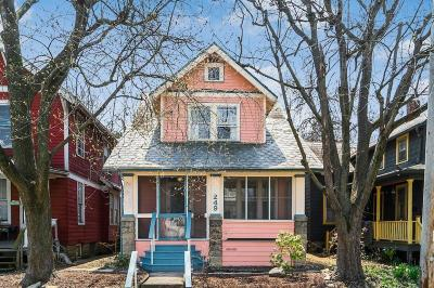 Columbus Single Family Home Contingent Finance And Inspect: 249 E Maynard Avenue