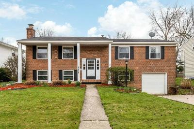 Reynoldsburg OH Single Family Home Contingent Finance And Inspect: $165,000