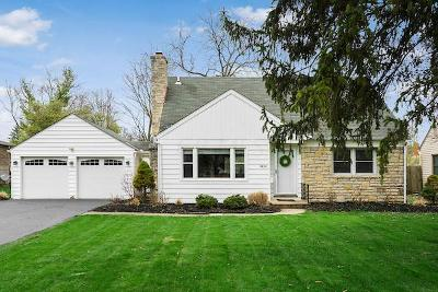 Upper Arlington Single Family Home Contingent Finance And Inspect: 3230 Ainwick Road