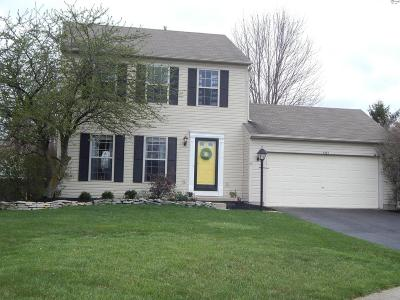 Hilliard Single Family Home Contingent Finance And Inspect: 4454 Jennydawn Place