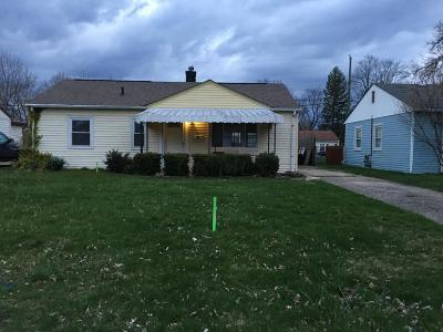 Columbus OH Single Family Home For Sale: $105,000