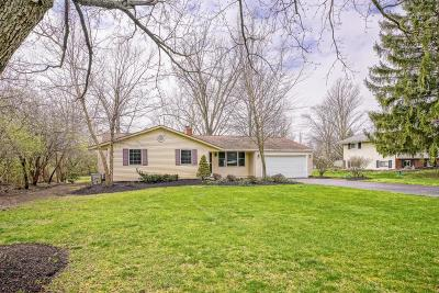 Hilliard Single Family Home For Sale: 3795 Schirtzinger Road