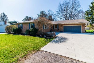 Pickerington Single Family Home For Sale: 8719 Blacklick Eastern Road NW