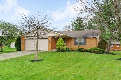 Pickerington Single Family Home For Sale: 12100 Winterside Lane