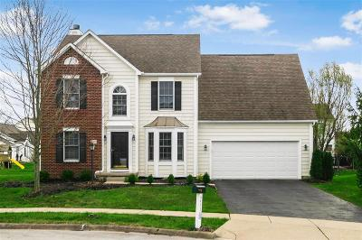 New Albany Single Family Home Contingent Finance And Inspect: 6457 Herb Garden Court
