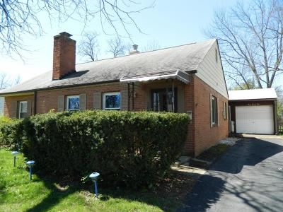 Columbus Single Family Home For Sale: 389 Old Village Road