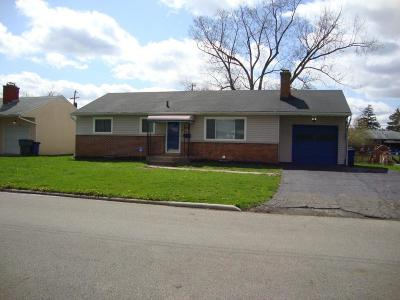 Columbus OH Single Family Home For Sale: $125,000