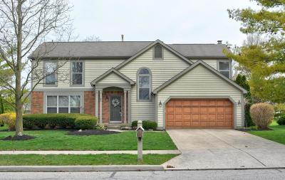 Dublin Single Family Home Contingent Finance And Inspect: 5671 Dublinshire Drive