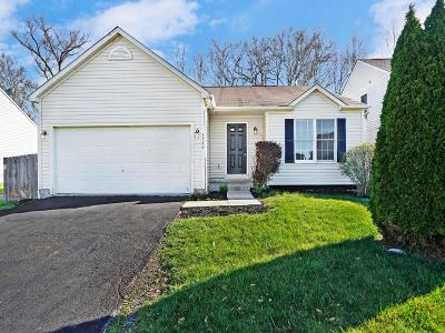 Westerville OH Single Family Home Contingent Finance And Inspect: $222,500