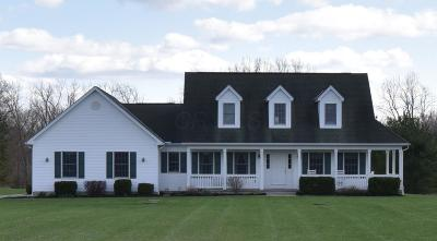 Johnstown Single Family Home Contingent Finance And Inspect: 15390 Center Village Road