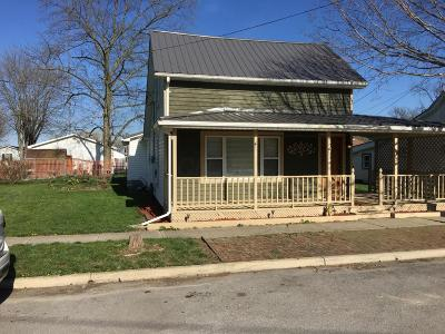 Williamsport OH Single Family Home For Sale: $137,900