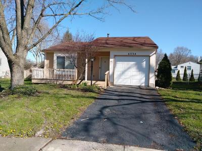 Westerville Single Family Home For Sale: 4334 Lawn Place