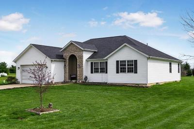 Ashville Single Family Home Contingent Finance And Inspect: 8077 State Route 752