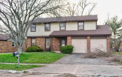 Reynoldsburg OH Single Family Home For Sale: $155,000