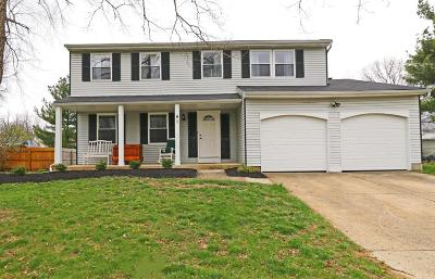 Pickerington Single Family Home Contingent Finance And Inspect: 41 Lynette Drive