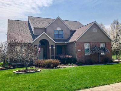 Pickerington Single Family Home Contingent Finance And Inspect: 13021 Silver Brook Drive