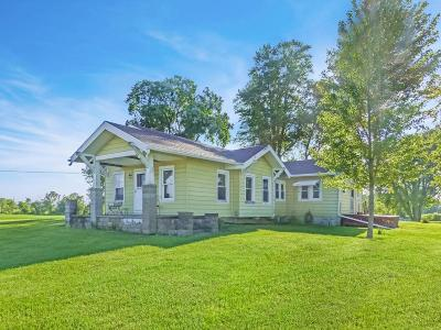 Mount Vernon Single Family Home Contingent Finance And Inspect: 3006 Weaver Road