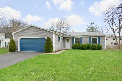 Columbus Single Family Home For Sale: 7314 Coldstream Drive