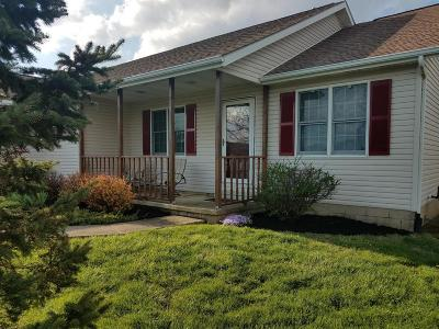 Ashville Single Family Home Contingent Finance And Inspect: 3838 State Route 752