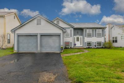 Hilliard Single Family Home Contingent Finance And Inspect: 5084 Bressler Drive