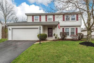 Westerville Single Family Home For Sale: 5676 Bears Paw Court