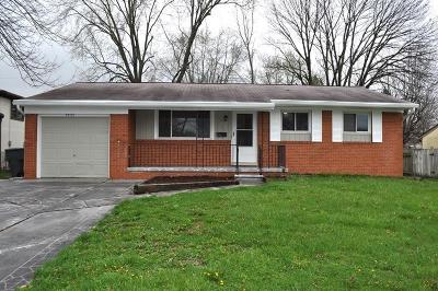 Columbus Single Family Home For Sale: 4954 Carbondale Drive