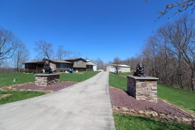 Monroe County Single Family Home For Sale: 31886 Christman Ridge Rd Road