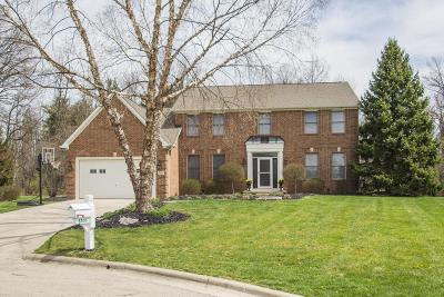 Westerville Single Family Home For Sale: 5505 Bellerive Place