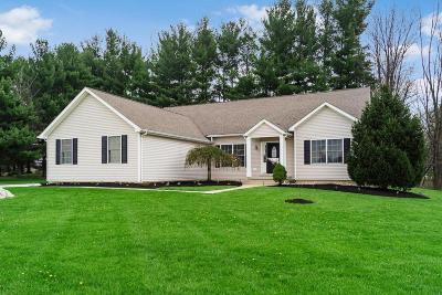 Westerville Single Family Home For Sale: 11784 Fancher Road
