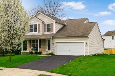 Franklin County, Delaware County, Fairfield County, Hocking County, Licking County, Madison County, Morrow County, Perry County, Pickaway County, Union County Single Family Home For Sale: 8336 Ashlynd Place