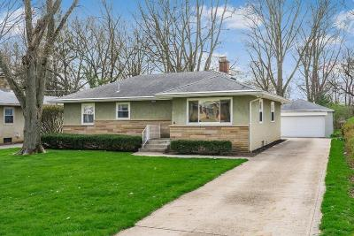 Upper Arlington Single Family Home Contingent Finance And Inspect: 3095 Derby Road