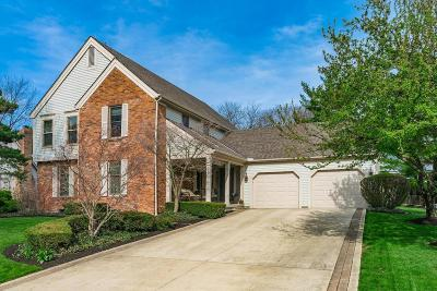 Upper Arlington Single Family Home Contingent Finance And Inspect: 4690 Burbank Drive