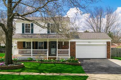 Pickerington Single Family Home Contingent Finance And Inspect: 357 Sycamore Drive