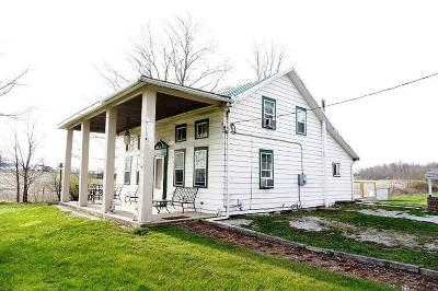 Centerburg Single Family Home Contingent Finance And Inspect: 7817 Lock Road