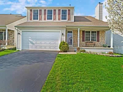 Lewis Center Single Family Home Contingent Finance And Inspect: 156 Olentangy Meadows Drive