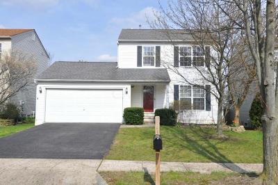 Hilliard Single Family Home Contingent Finance And Inspect: 2418 Mills Fall Drive