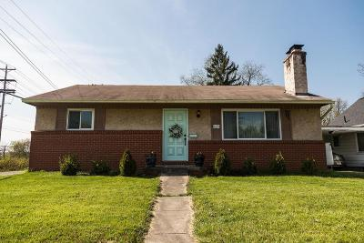 Clintonville Single Family Home Contingent Finance And Inspect: 625 Clinton Heights Avenue
