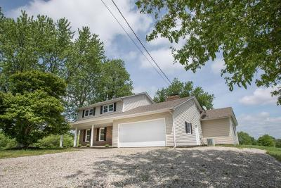 Johnstown Single Family Home Contingent Finance And Inspect: 7686 Green Mill Road
