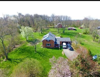 Lancaster Single Family Home For Sale: 3190 Chillicothe Lancaster Road SW