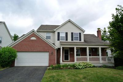 New Albany Single Family Home Contingent Finance And Inspect: 4409 Oaks Shadow Drive