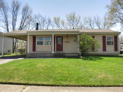 Westerville Single Family Home Contingent Finance And Inspect: 3581 Karikal Drive