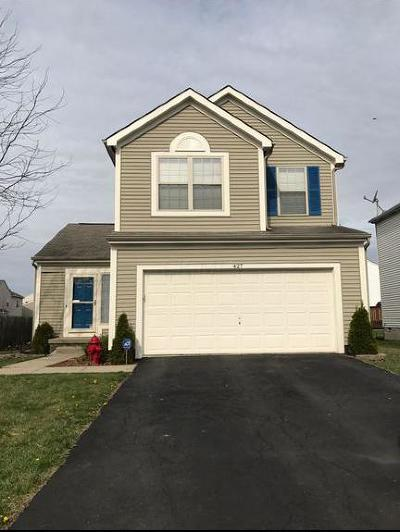 Blacklick Single Family Home Contingent Finance And Inspect: 427 Sandmar Drive