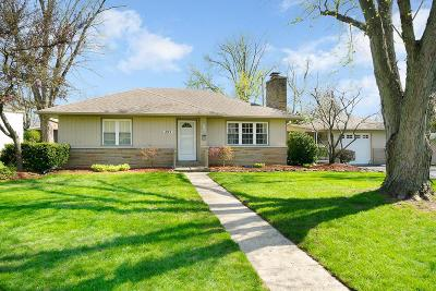 Gahanna Single Family Home Contingent Finance And Inspect: 397 Gary Lee Drive