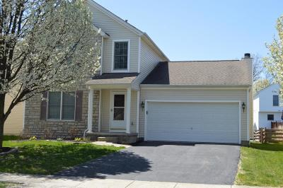 Lewis Center Single Family Home Contingent Finance And Inspect: 8619 Clover Glade Drive