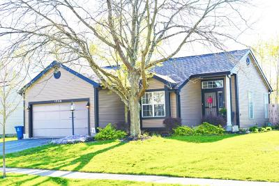 Hilliard Single Family Home Contingent Finance And Inspect: 1759 Jupiter Avenue