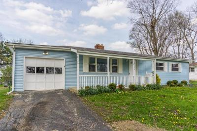 Reynoldsburg Single Family Home Contingent Finance And Inspect: 6326 Rider Road