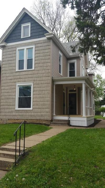 Clintonville Single Family Home Contingent Finance And Inspect: 62 W Lakeview Avenue