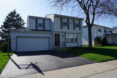 Hilliard Single Family Home Contingent Finance And Inspect: 2989 Bismark Drive