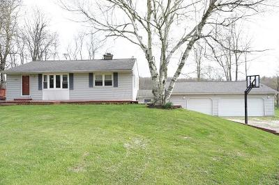 Centerburg Single Family Home Contingent Finance And Inspect: 7385 Ramey Road